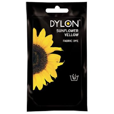 Dylon Fabric Dye - Hand Use - Sunflower Yellow