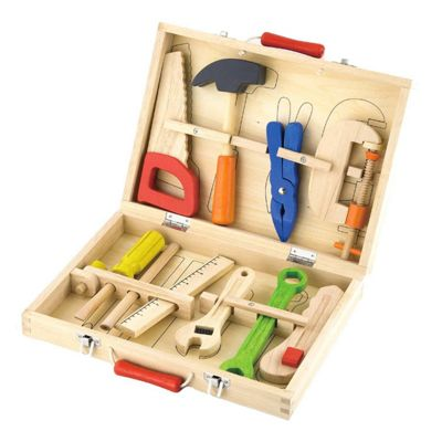 Wooden Tool Box 10 Piece