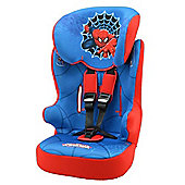 Nania Marvel Spiderman Racer SP High Back Booster Car Seat with harness, Group 1-2-3