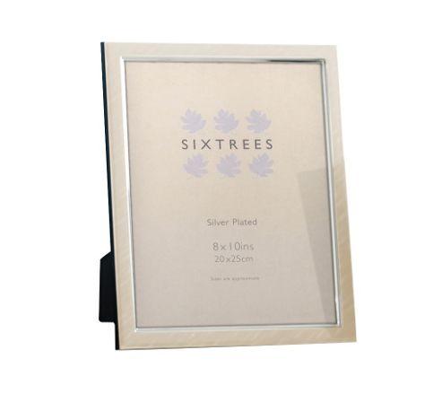 Sixtrees Zurich Plate Photo Frame - 24cm H x 19cm W x 3cm D