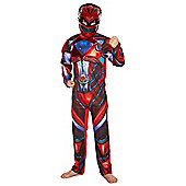 Power Rangers Red Ranger Dress-Up Costume - Red