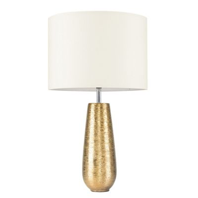 Hastings 65cm Touch Dimmer Table Lamp - Gold & Cream
