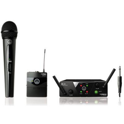 AKG WMS40 Mini 2 Mix Set Wireless System ISM2/3