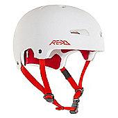 REKD Elite Helmet - White/Red - Large (58-59cm)