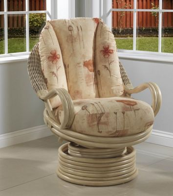 Desser Morley Swivel Rocker Conservatory Chair