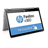 HP Pavilion x360 14-ba039na, 14 inch, Core i5-7200U, 8GB, 256GB, Convertible Laptop - Mineral silver