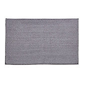 Catherine Lansfield Home Bath Mat - Silver