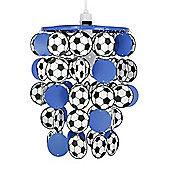 Football Ceiling Pendant Light Shade, Blue