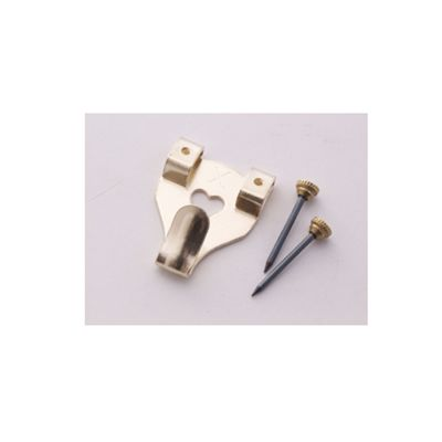 Shaw No3 X Picture Hooks Brass Boxed