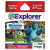 LeapFrog Explorer Learning game :  Disney Pixars Monsters University