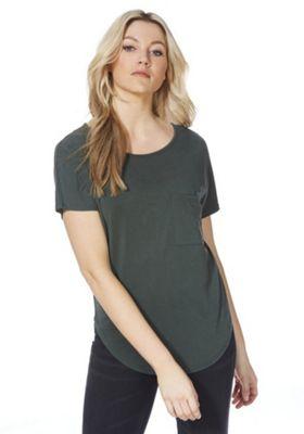 F&F Luxury Supersoft T-Shirt Green 18