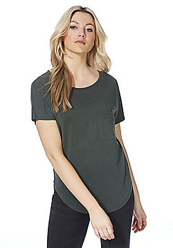 F&F Luxury Supersoft T-Shirt - Green