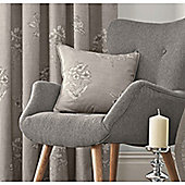 Fusion Flora Cushion Cover 43x43cm - Dove Grey
