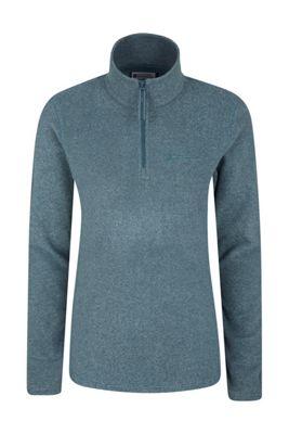 Mountain Warehouse Hebridean Stripe Melange Halfzip Fleece