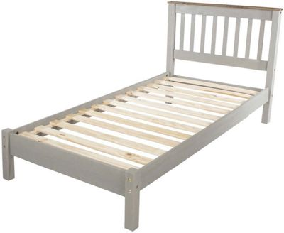 Core Products Corona Grey 3 0 Slatted Low End Bedstead