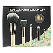 Royal Cosmetic Connections 7 Piece Studio Makeup Brush & Sponge Set
