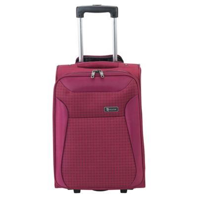 Revelation by Antler Nexus 2-Wheel Suitcase, Raspberry Check Small