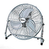 Igenix DF1800 18 Inch Floorstanding Air Circulator Fan - Chrome