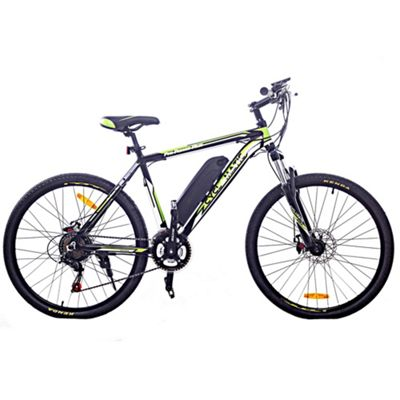 Cyclamatic Cx3 Pro Power Plus Alloy Frame Electric Bicycle / Ebike Black/Green