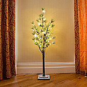 Artificial Images - 180cm Pine Tree with Cones & 60 LED Lights