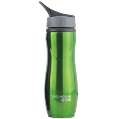 Yellowstone 750ml Sports Bottle With Grip Lid Green