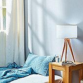 Versanora Tripod Bedside Table Lamp White Shade Modern Lighting VN-L00008