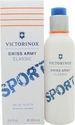 Victorinox Swiss Army Classic Sport Eau de Toilette (EDT) 100ml Spray For Men
