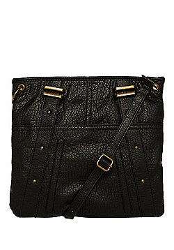 F&F Washed Studded Cross-Body Bag