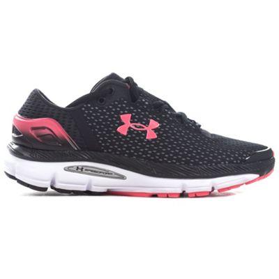 Under Armour Speedform Intake 2 Womens Running Trainer Black/Pink - UK 4