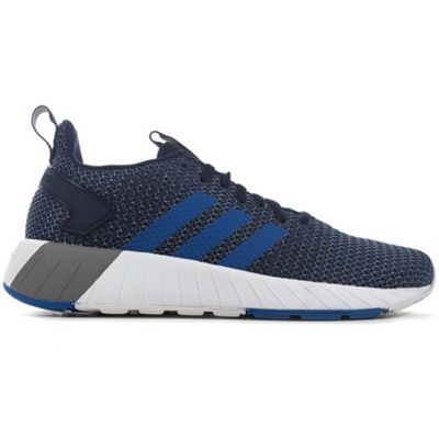 adidas Questar Ride Mens Fashion Trainer Shoe Navy Blue/Blue - UK 8
