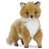 Hansa 36cm Fox Baby Standing Plush Soft Toy