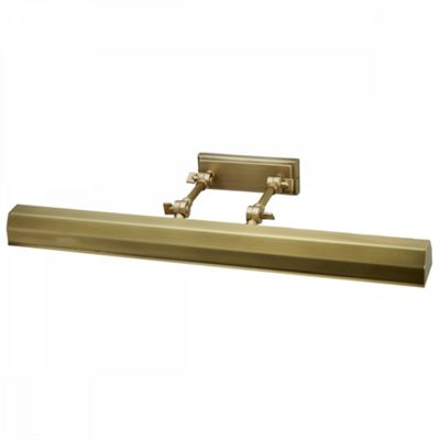 Aged Brass Picture Light - 4 x 40W E14