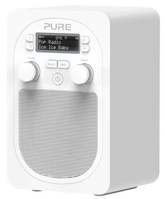 PURE EVOKE D2 BLUETOOTH DAB/FM PORTABLE RADIO (WHITE)