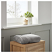 Fox & Ivy Supremely Soft Silver Hand Towel