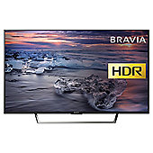 Sony KDLWE753BU  Inch smart Full HD LED TV with HDR and Freeview HD - Black