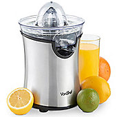 VonShef 100W Electric Citrus Juicer - Stainless Steel