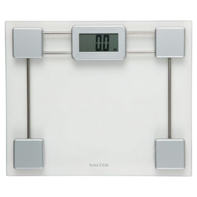 Salter Compact Electronic Glass Bathroom Scale