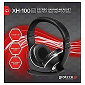 XH-100 WIRED STEREO HEADSET (BLACK/WHITE) (PC,MAC,PS4,XB1)