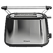 Hotpoint TT 22M DX0 L UK Toaster - Polished Chrome