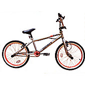 "Zombie Fury BMX Bike 20"" Wheel Painted Chrome"