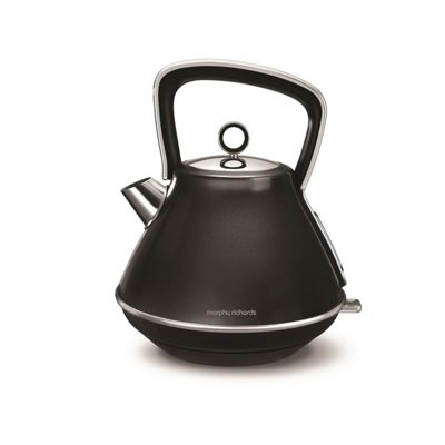 Morphy Richards-100105 Evoke Pyramid Kettle with 1.5 Litre Capacity and 3000W Power in Black