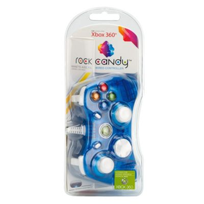 PDP Systems Rock Candy Xbox360 Controller Blue