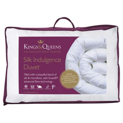 Kings & Queens Silk Indulgence 10.5 Tog Double Duvet