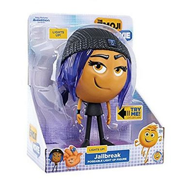 The Emoji Movie Poseable Light Up Figure- Jailbreak