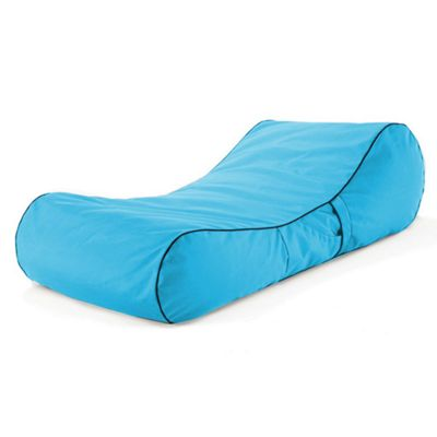 Loft 25 Water Resistant Bean Bag Sun Lounger - Turquoise