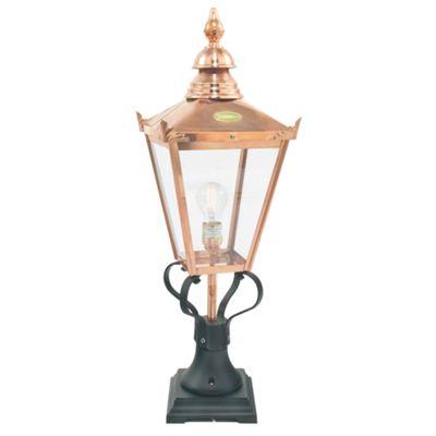 Copper Grande Pedestal - 1 x 100W E27