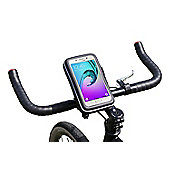 Navitech Cycle Bike Bicycle Waterproof Mount & Case For Phones and Smartphones up to 6 inches
