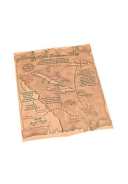Bristol Novelty - Pirate Treasure Map