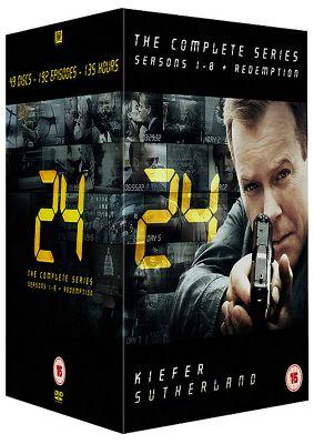 24 - Series 1-8 - Complete (DVD Boxset)