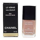 Chanel Le Vernis Nude Beige Nail Polish 661 Precious Beige